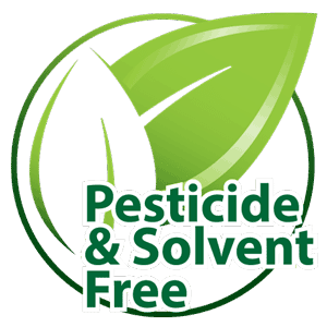 Pesticide and Solvent Free