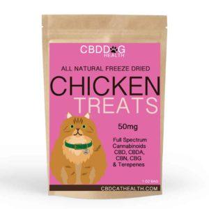 CBD Freeze Dried Chicken Treats