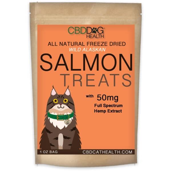 CBD Salmon Treats for Cats
