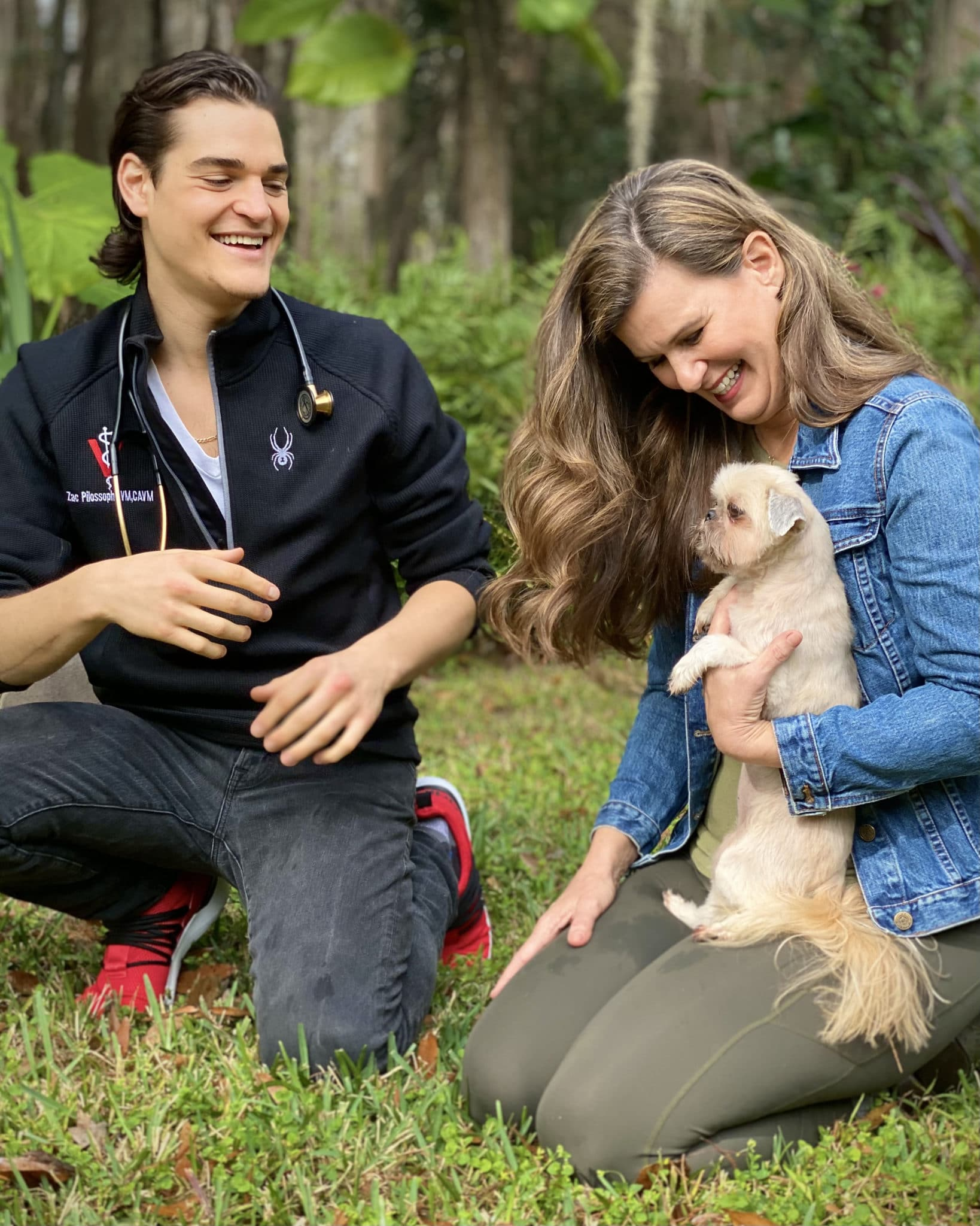 Dr. Zac and Angie