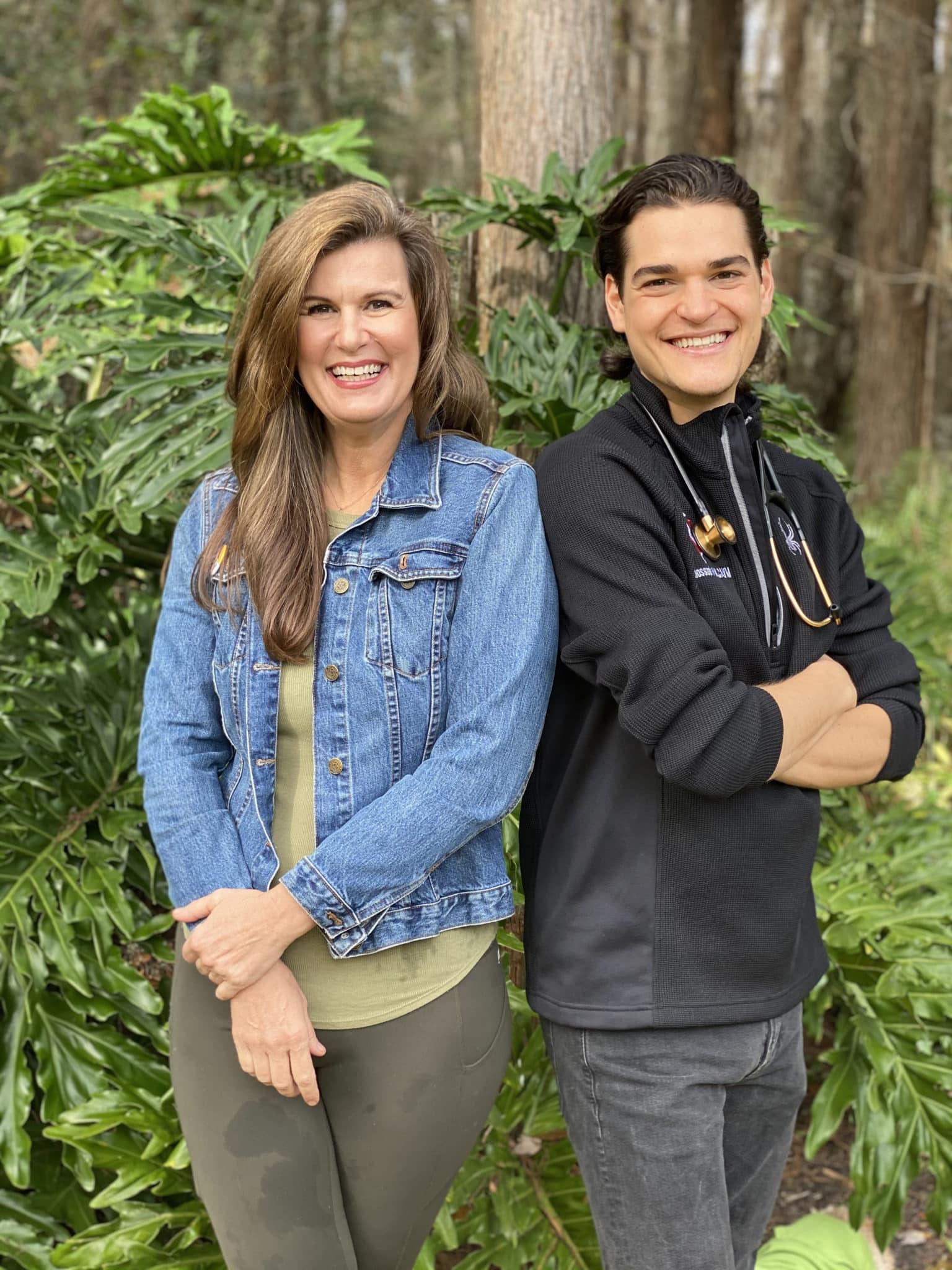 Dr. Zac Pilossoph and Angela Ardolino