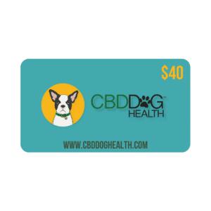 CBD Dog Health Gift Card - 40