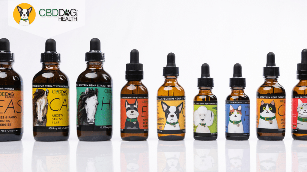 In The Press: Full Spectrum CBD Products for Animals