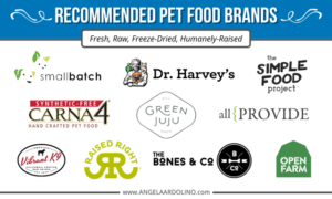 Angie's Recommended Pet Food Brands