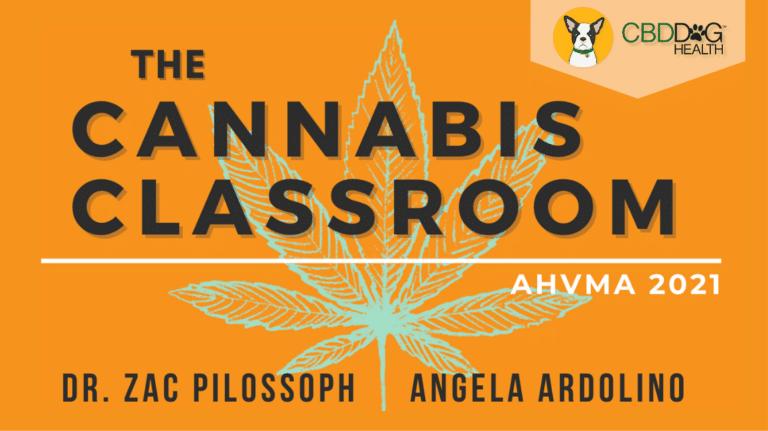 Cannabis Classrooms at AHVMA by CBD Dog Health