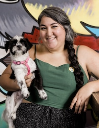 christie and bennet - author pic - mental health pets